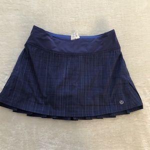 Lulu Lemon Blue skort / skirt